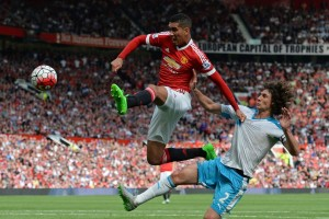 Smalling was the best player on the field AGAIN!