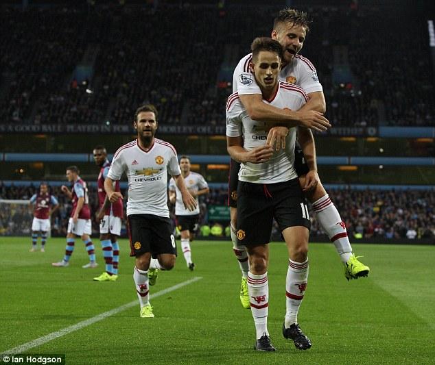 Januzaj scores for Man Utd