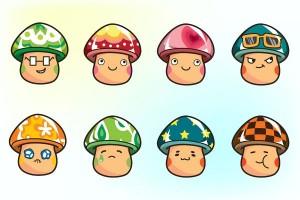 cartoon-mushroom-characters-vector_1376457188_large