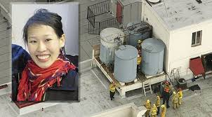 The tanks where Elisa's body was found