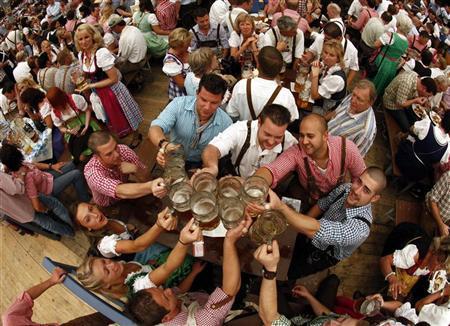Oktoberfest: a festival dedicated to drinking liquor in Germany