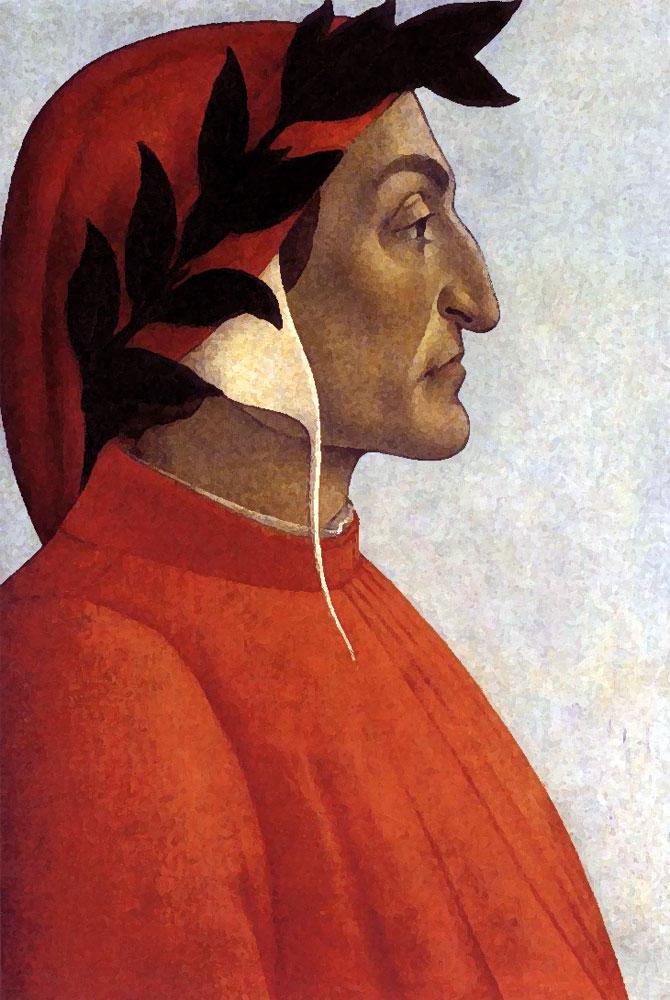 Dante by bottecelli
