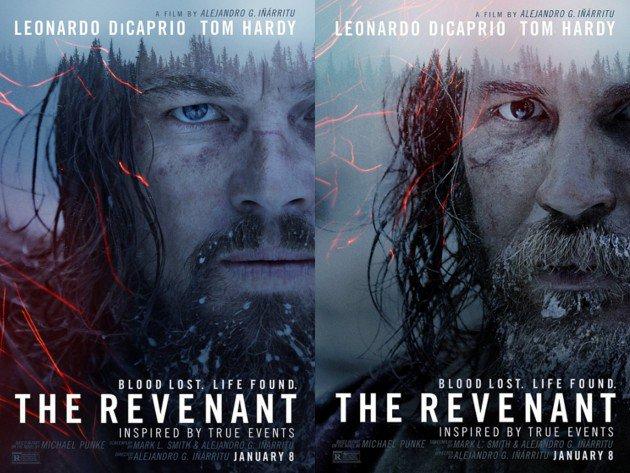 leonardo-dicaprio-dan-tom-hardy-tampil-garang-di-poster-film-the-revenant1