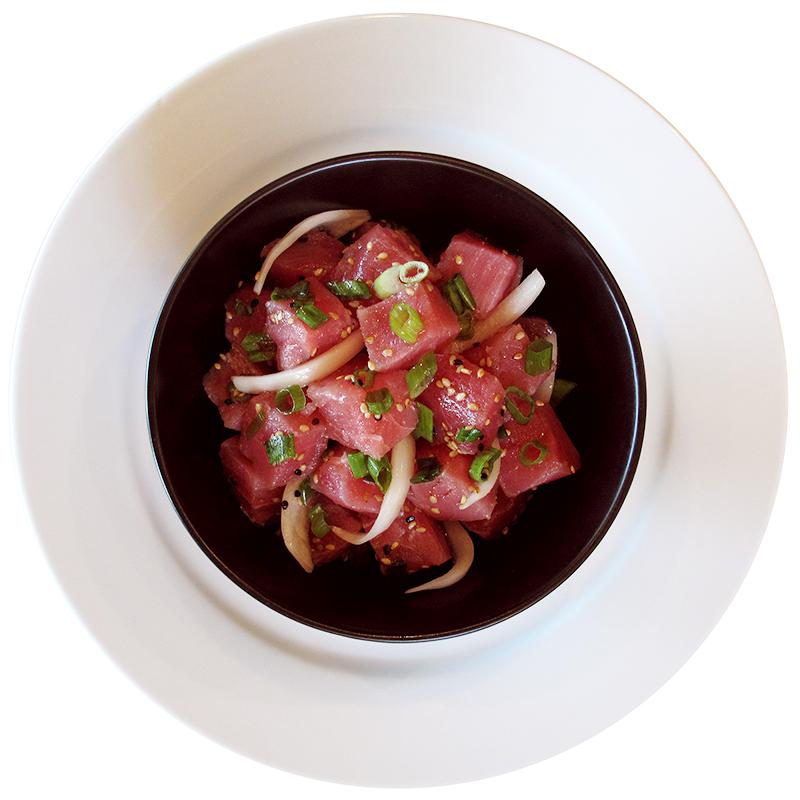 Not-so Spicy Tuna Poke