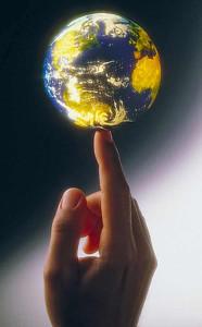 World-at-a-finger-tip