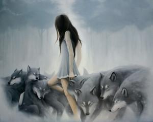 lamb amongst womves