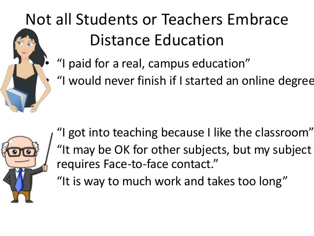 writing essay distance learning